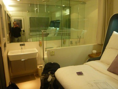 My Stay at the Yotel in Gatwick Airport, London, England