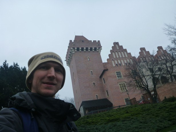 At the Royal Castle in Poznan, Poland