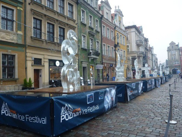 Ice Festival in Poznan