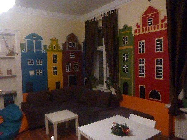 The Poco Loco Hostel in Poznan, Poland