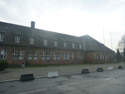 The museum complex at Auschwitz
