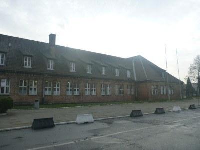 The museum complex at Auschwitz