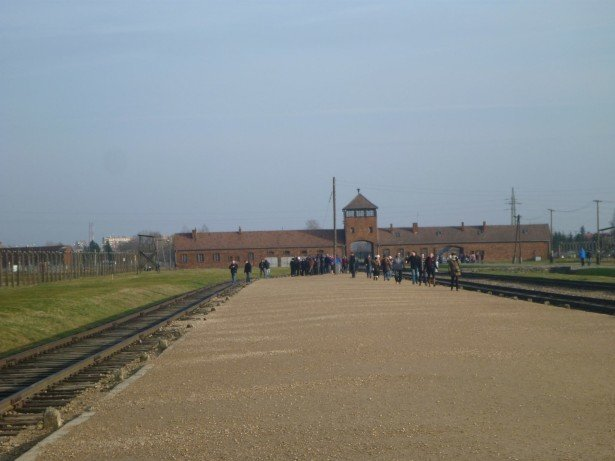 Touring Birkenau as organised by Mosquito Hostel