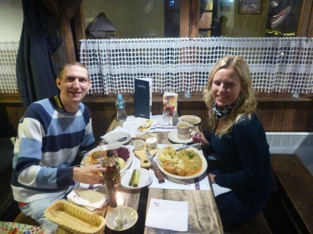A night out with Aneta in Krakow, Poland