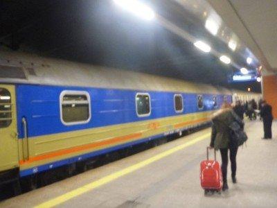 Leaving Krakow, Poland