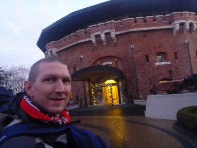 Staying at the Citadel Inn in Lviv, Ukraine