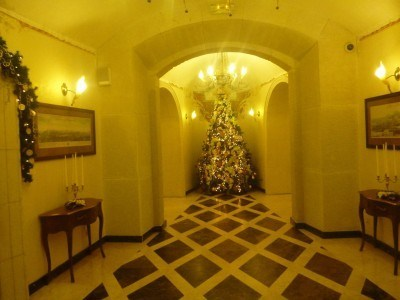 The elegant boutique Citadel Inn in Lviv, Ukraine