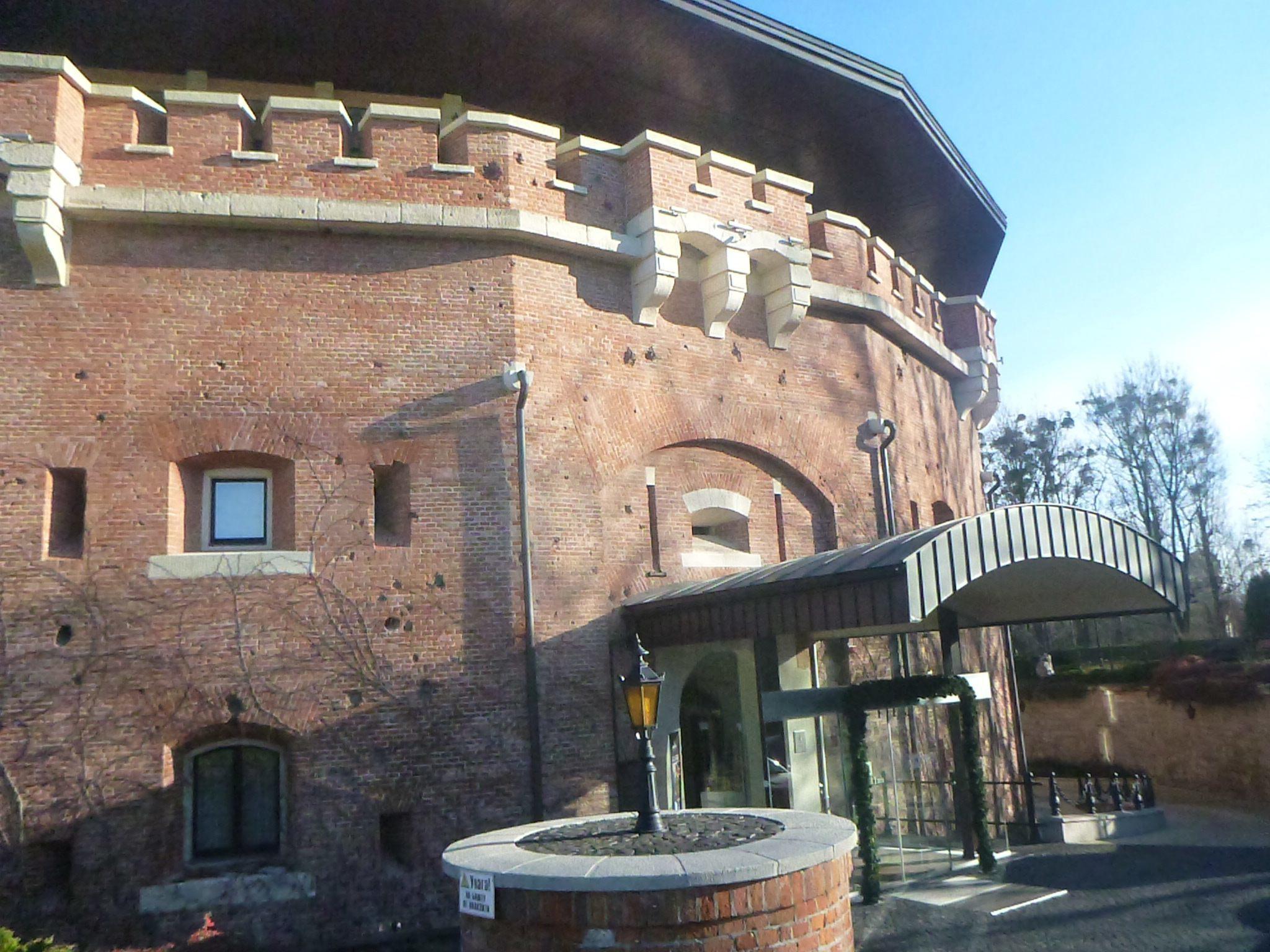 Staying at the fantastic Citadel Inn in Lviv, Ukraine