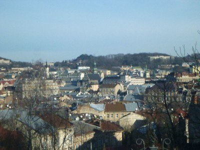 Magnificent view of Lviv, Ukraine.