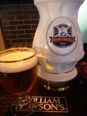 Winston Churchill Beer! Lviv, Ukraine!