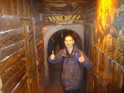Kriyivka - themed crazy underground pro-Ukrainian bar. Mental.