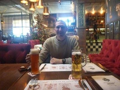 Drinking in Kumpel Bar