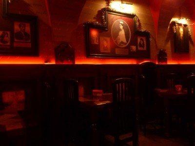 The bar is sensual