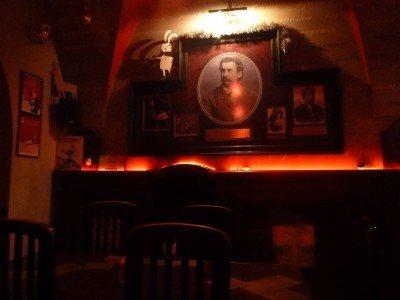 Around the bar