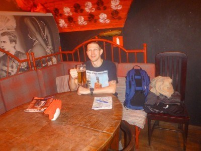 Cheers from Masoch Cafe, Lviv