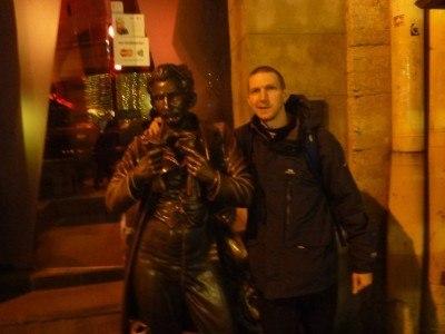 Leopold Masoch and Northern Irish backpacker Jonny Blair
