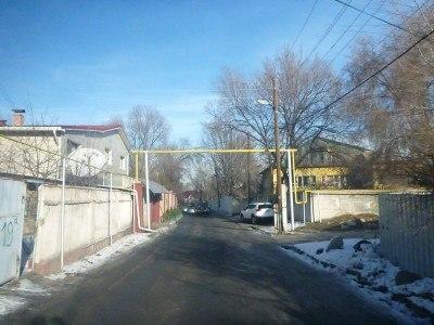Elebekova Street in Almaty, Kazakhstan