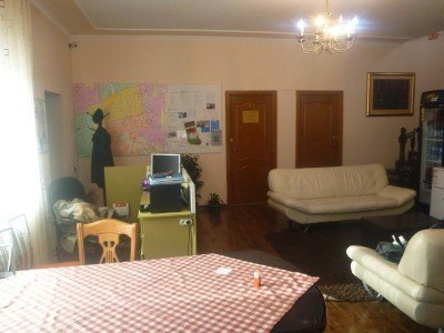 Relaxed lounge in Almaty Backpackers