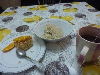 Porridge and Cake