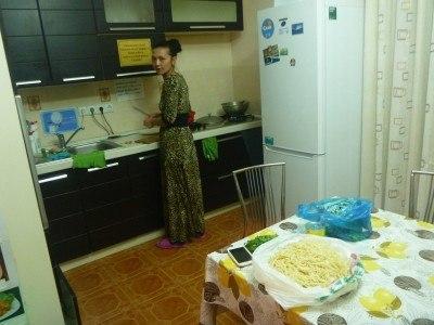Dinara cooking