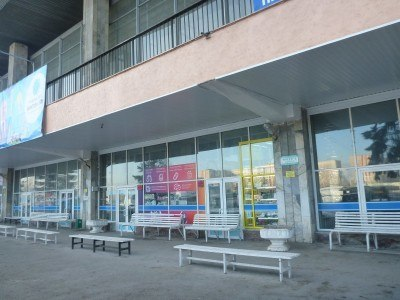 Almaty Sayran bus station
