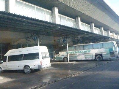 Sayran Bus Station, Almaty, Kazakhstan