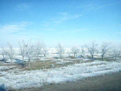 Views between Almaty and Korday