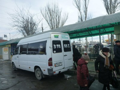 Arrival at Bishkek West bus station