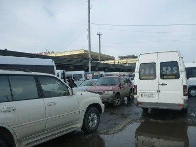 Arrival at Bishkek West bus station