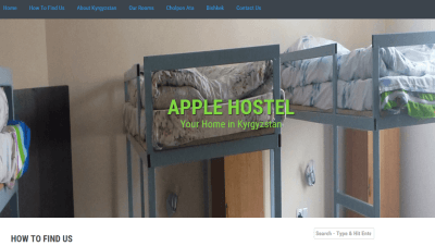 Apple Hostel best hostel in Bishkek