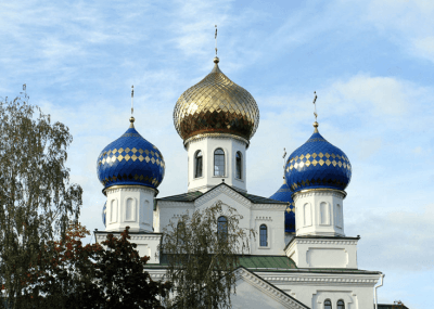 St. Nicholaus Church in Bobruisk, Belarus