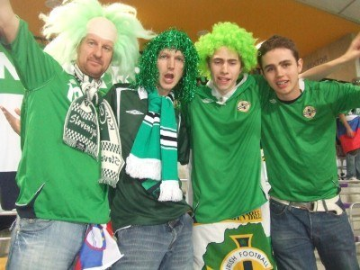 Northern Ireland, Northern Ireland, We'll Support You Evermore!