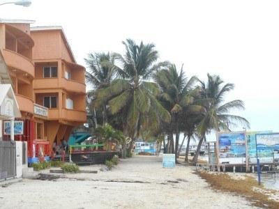 The beach on arrival at La Isla Bonita