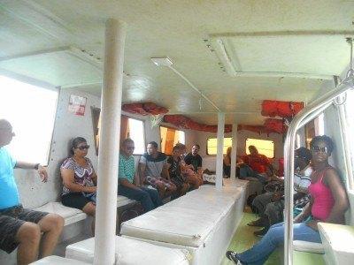 On the boat to San Pedro, La Isla Bonita, Belize
