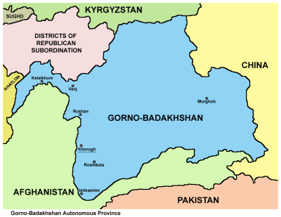 How to Get a Permit to Visit Gorno Badakhshan While Based in Bishkek, Kyrgyzstan