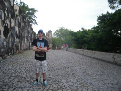 Touring the walls and fortresses of Macau