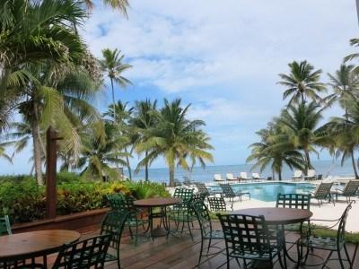 Patio View in San Pedro, La Isla Bonita, Belize
