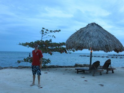 Totally tropical in San Pedro, La Isla Bonita, Belize