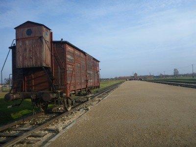 Touring Birkenau Camp
