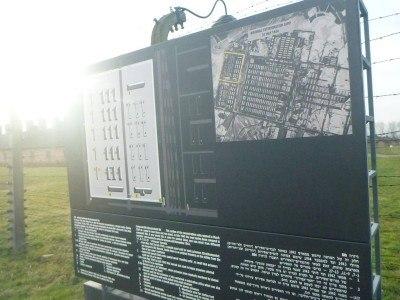 A plan of Birkenau
