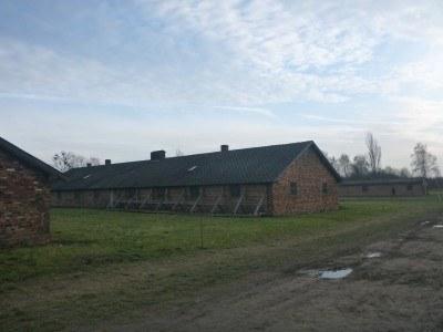 Living quarters at Auschwitz I: Birkenau.