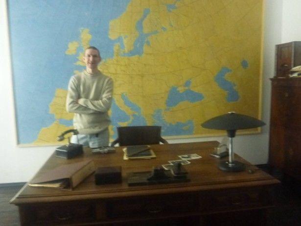 In Schindler's Office