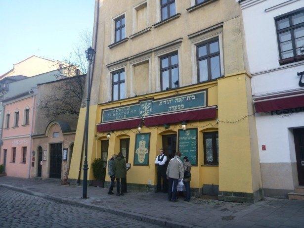 An Israeli Restaurant in Krakow