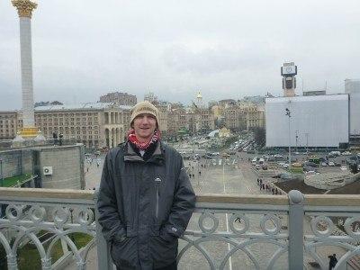Backpacking in Kiev, Ukraine