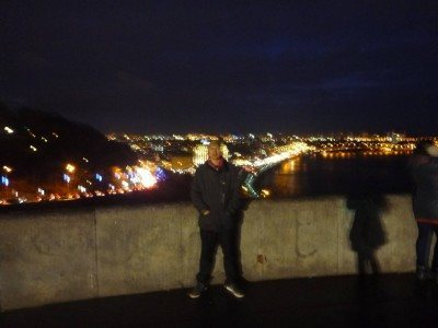 A bit blurred at the viewpoint