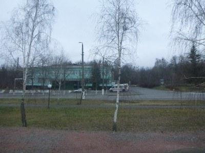 A restaurant in Chernobyl