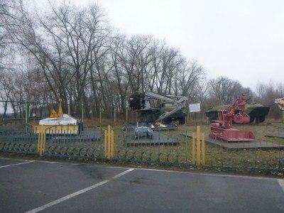 Exhibition of vehicles