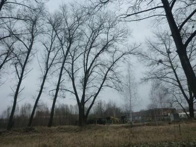 Leaving Chernobyl town behind