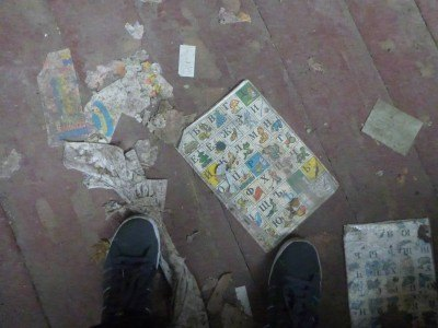 The floor of the Kindergarten