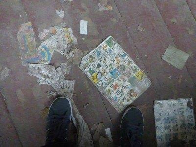 The floor of the Kindergarten